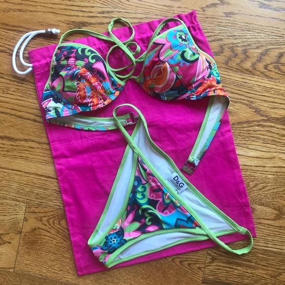 81955d8d2c Dolce & Gabbana Other - D&G Dolce & Gabbana Bikini Swimware Swimsuit Beach